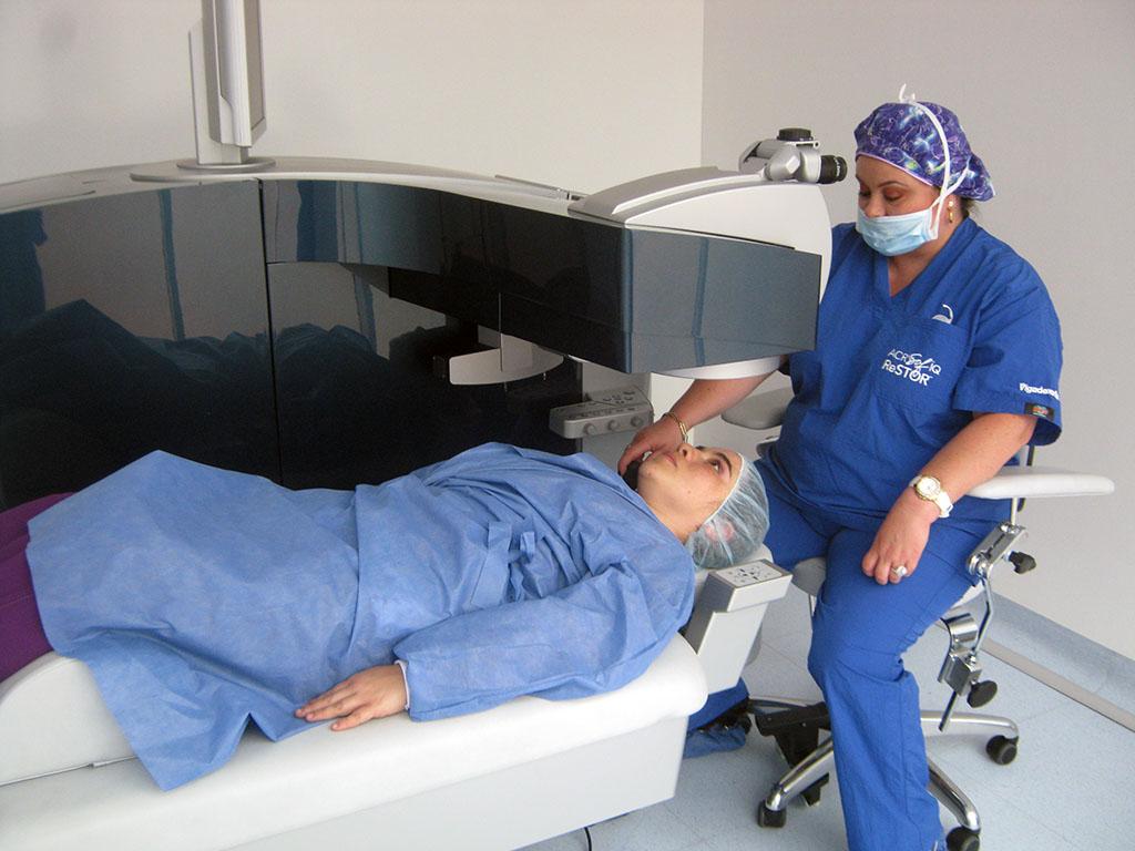 EXCIMER LASER ALLEGRETTO EX500: Para la realización de las cirugías refractivas con láser, y la corrección con LASIK, LASEK y PRK.